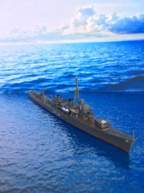 フジミ1/700駆逐艦「五月雨」